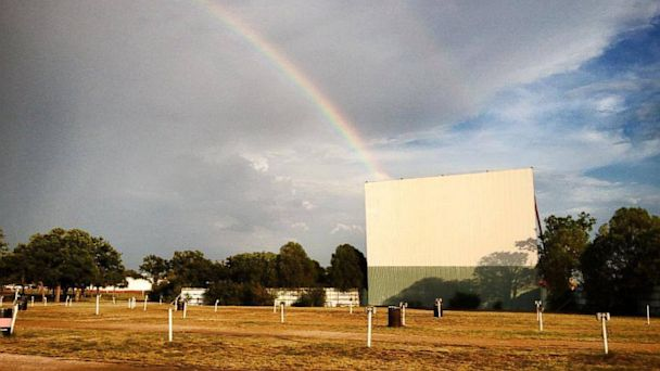 PHOTO: The Graham Drive-In theater in Graham, Texas is seen in this undated photo.