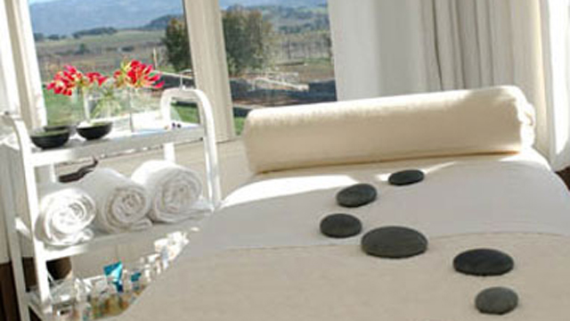 PHOTO: Healing Gem & Stone Massage, Carneros Inn & Spa