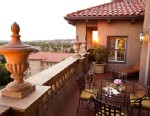 PHOTO: The view from the balcony of the Langham Huntington Hotel, in Pasadena, Calif. is shown.