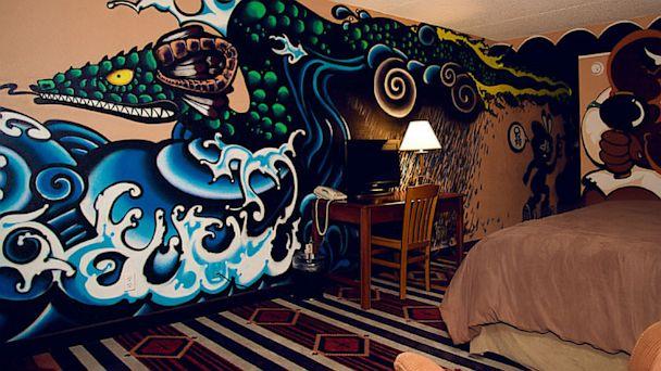 PHOTO: Yakuza-style mural of Avanyu