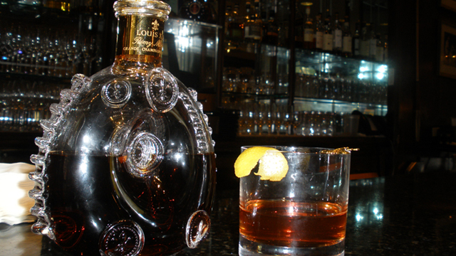 """PHOTO: The $10,000 """"Key to the City"""" cocktail is available at the Windsor Court Hotel in New Orleans for a limited time."""