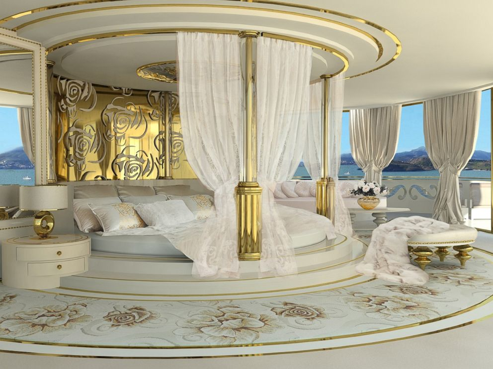 PHOTO: A mega yacht named La Belle is the first in the world designed specifically for women.