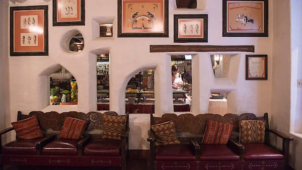 PHOTO: For the 150,000 guests who come to New Mexico specifically for the Indian Market, the hub of the action is right in the historic lobby of La Fonda on the Plaza.