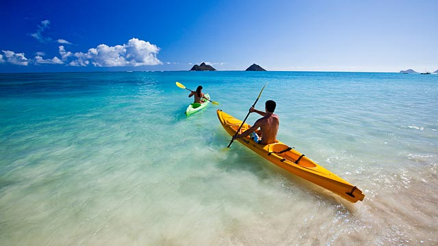 Lanikai Beach Kayak Tour