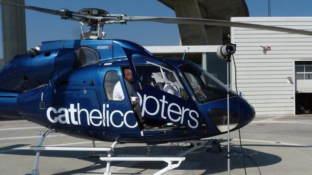 PHOTO: Michelin Helicopter Lunches at Hotel Arts, Barcelona