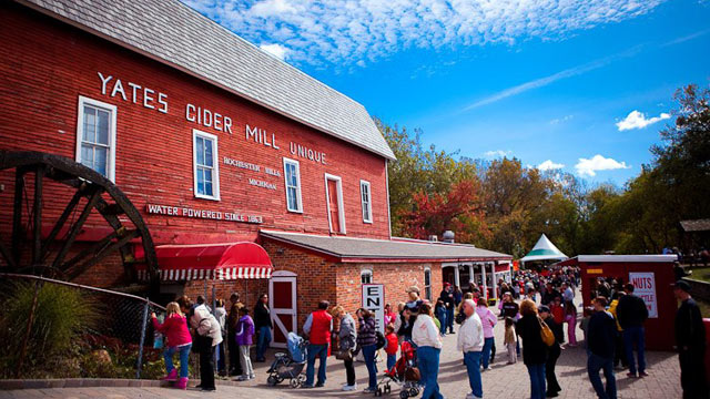 PHOTO: Michigan Cider Mills