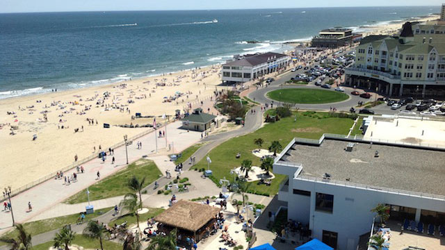 Photo Monmouth County Beach View
