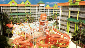 PHOTO Nickelodeon Suites Resort in Orlando, Fla. is shown in this file photo.