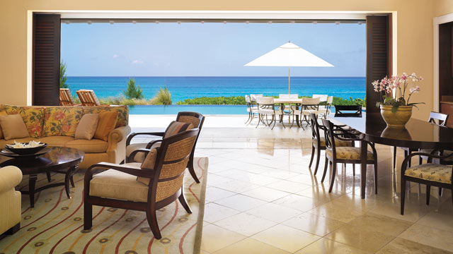 """PHOTO: As the world anxiously awaits the release of the latest Bond installation, """"Skyfall,"""" 007 devotees can travel to the filming site of """"Casino Royale,"""" One&Only Ocean Club in the Bahamas. The resort features terraced gardens, fountains and a magnific"""