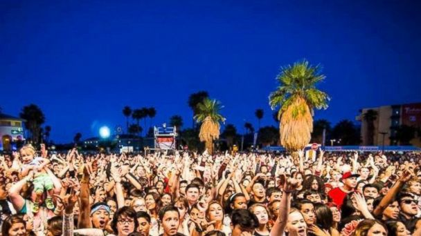 "PHOTO: Tachevah, dubbed ""a Palm Springs block party,"" is a concert that takes place in between Coachella weekends."