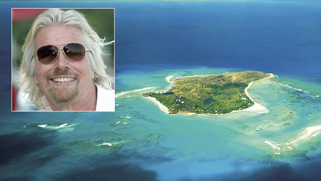 PHOTO: Necker Island.