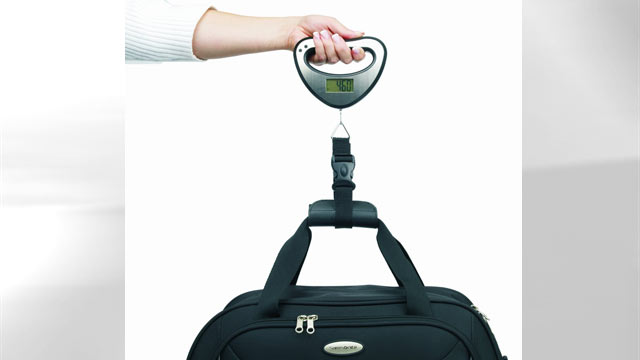 PHOTO: The Samsonite Luggage travel scale is seen here.