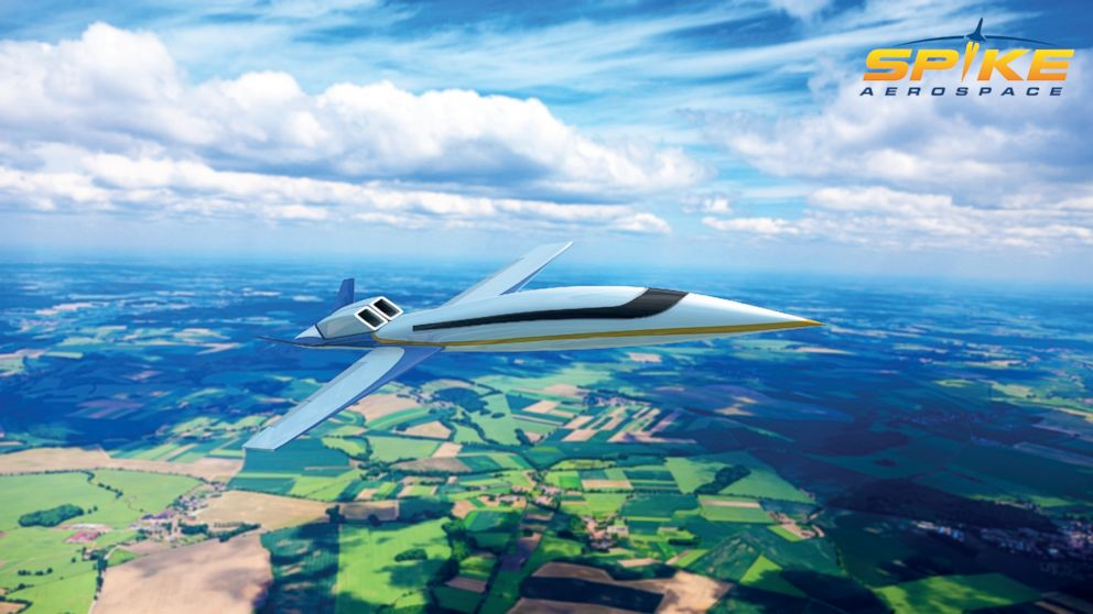 Pictured is the S-512 Supersonic Jet.