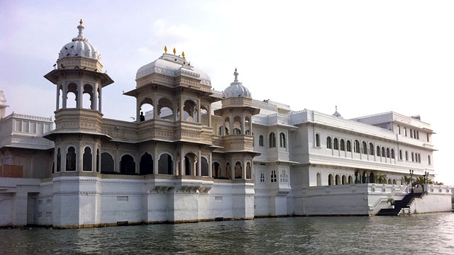 PHOTO: Roger Moore filmed scenes from Octopussy (1983) at the Taj Lake Palace Udaipur, and today, the hotel is still the very definition of exotic luxury.