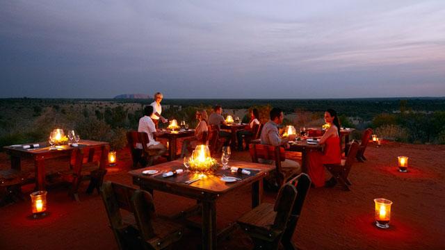 PHOTO: Tali Wiru Dinner, Uluru, Northern