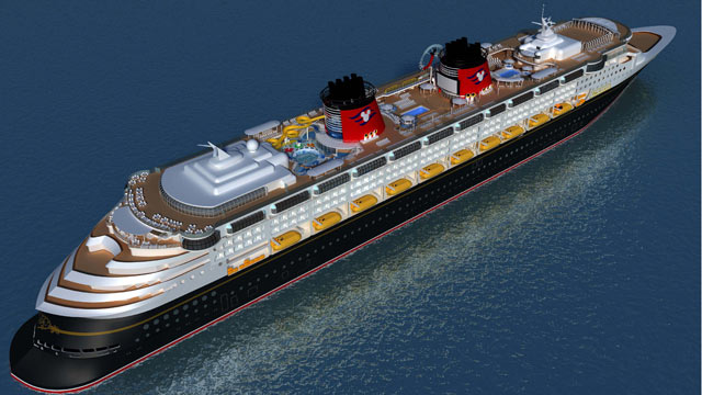 PHOTO: The Disney Magic will re-launch in October 2013