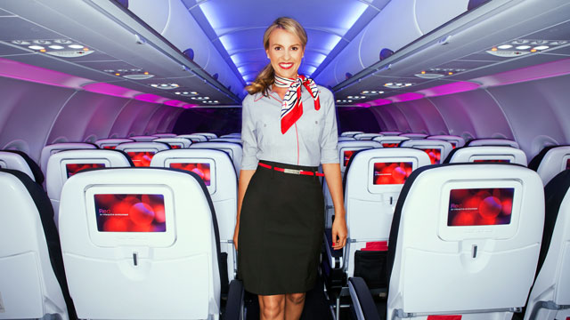 PHOTO: The airline debuted new Banana Republic-designed uniforms for the airline's 2,000 staff members on Aug. 8.