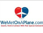 PHOTO: The web site WeMetOnAPlane.com attempts to re-establish the love connections made at 30,000 feet once passengers are back on terra firma.