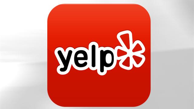 PHOTO: Yelp's mobile app