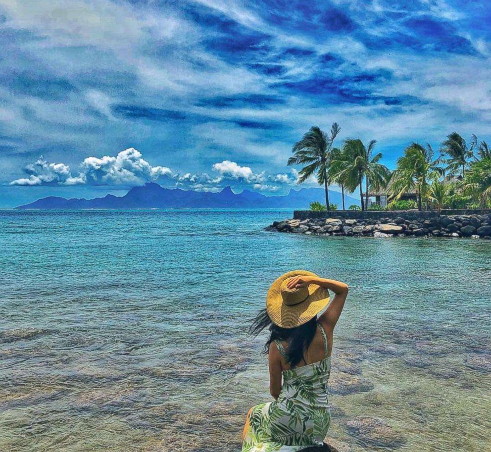 PHOTO: Kimia Kalbasi picked Bora Bora as her most romantic destination.