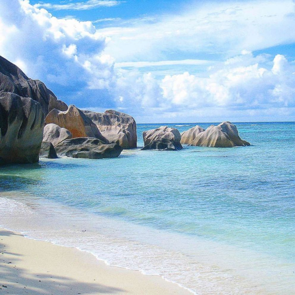 Lee Abbamonte picked the Seychelles as the most romantic place in the world.