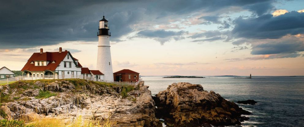 PHOTO: A view of the lighthouse in Cape Elizabeth, Maine, in this undated stock photo.