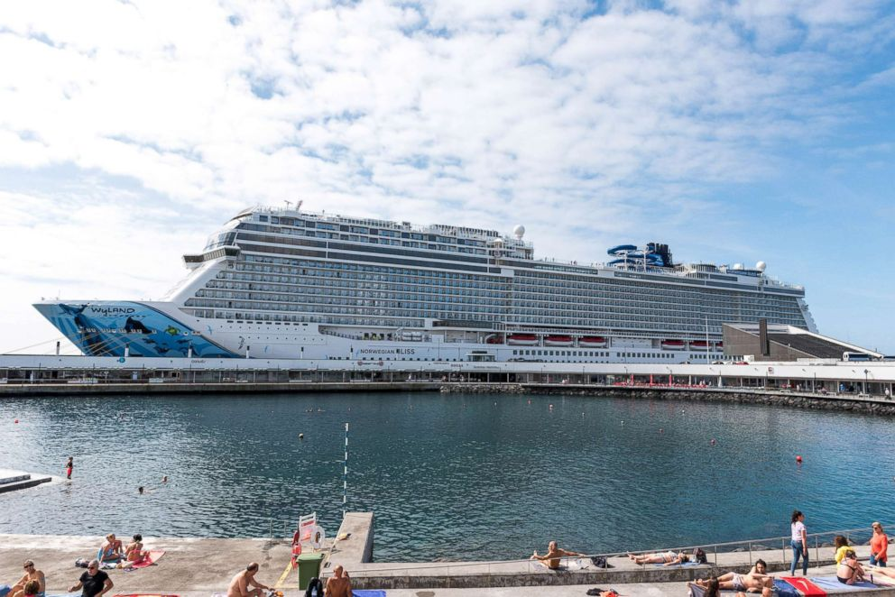 PHOTO: The Norwegian bliss cruise ship is pictured here.