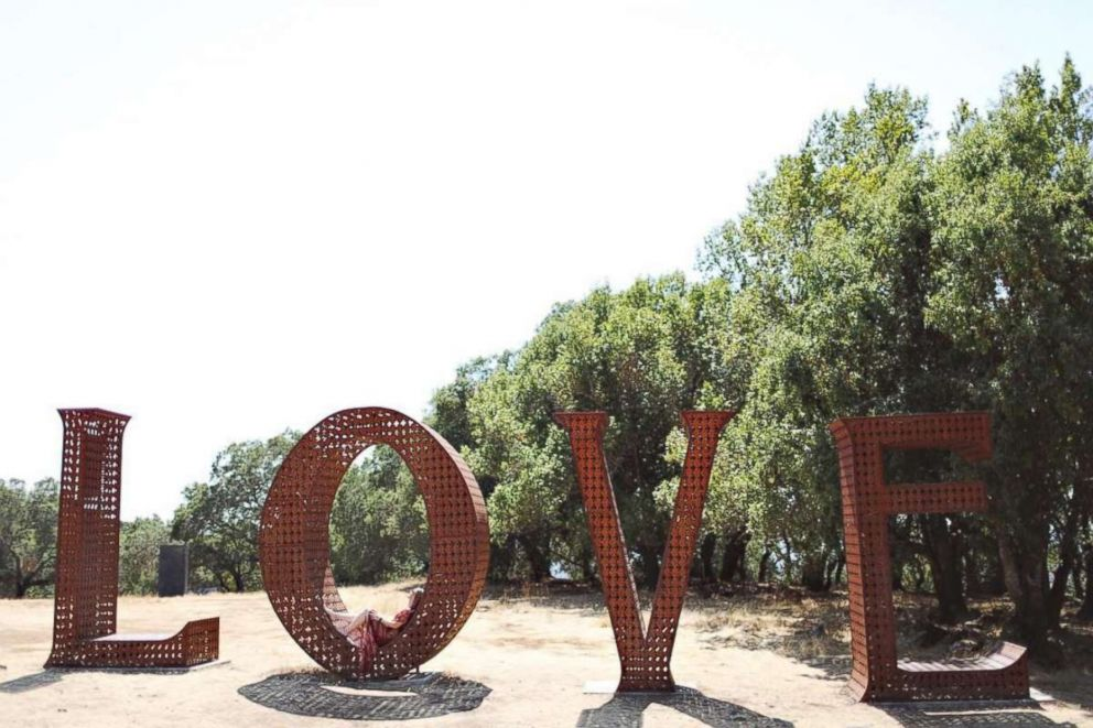 Becky Stavely chose Sonoma as her favorite romantic place.