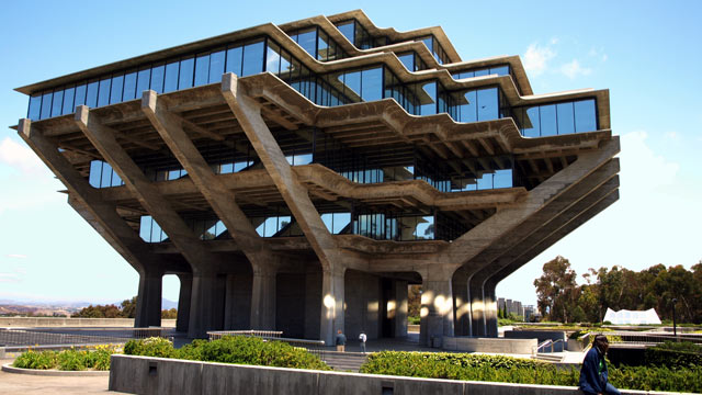 PHOTO: This undated photo shows the Geisel Library at the University of California, San Diego Campus.