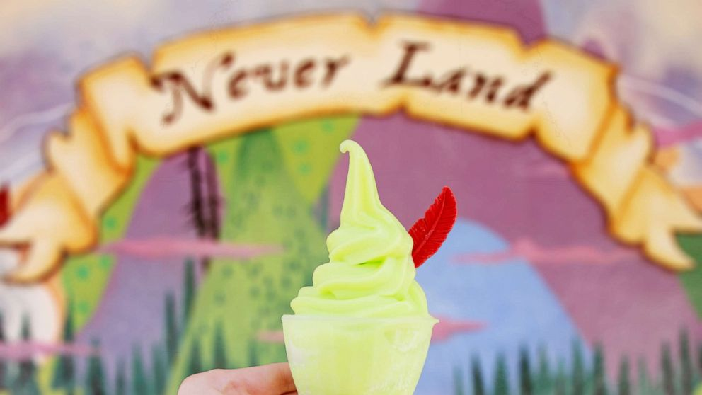 Peter Pan floats land at Walt Disney World