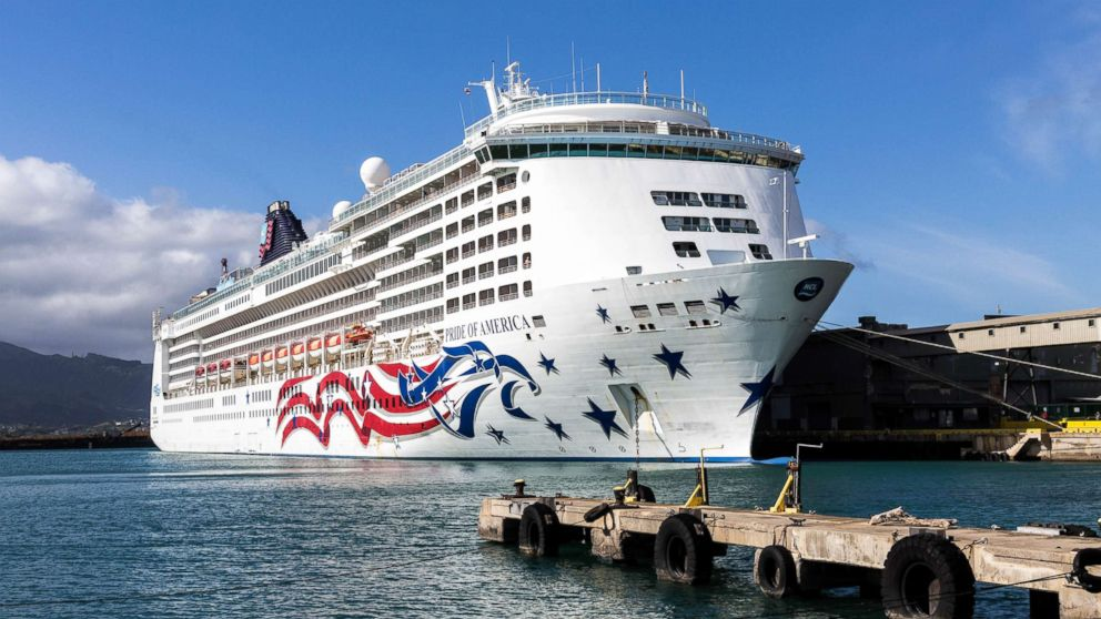 The Pride of America cruise ship is pictured here.