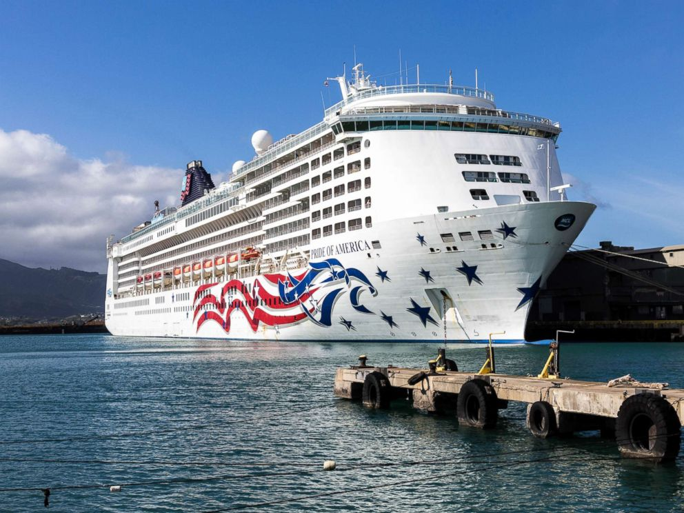PHOTO: The Pride of America cruise ship is pictured here.