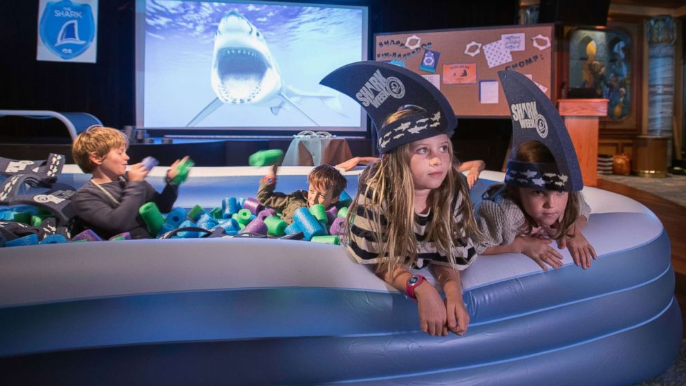 Princess Cruises has a variety of shark-themed events on board the Caribbean Princess to celebrate Shark Week.