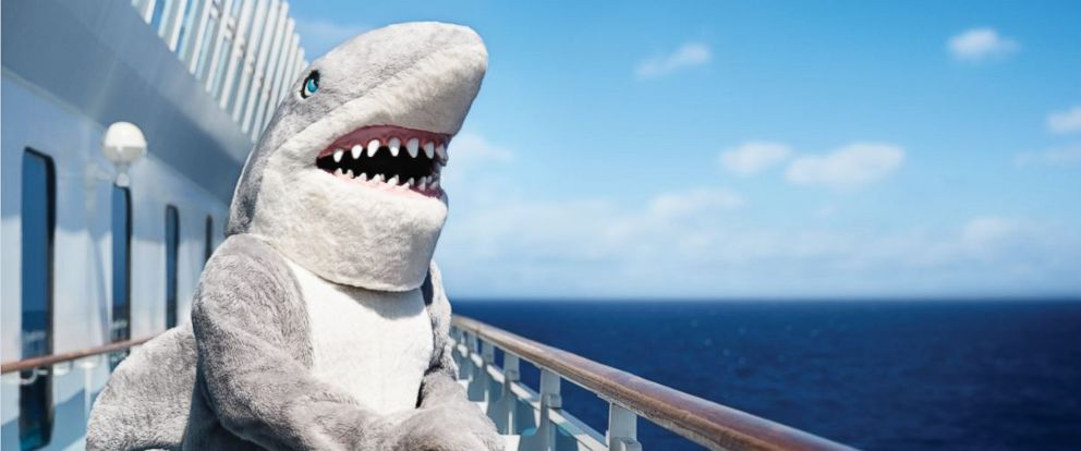 PHOTO: Princess Cruises has a variety of shark-themed events on board the Caribbean Princess to celebrate Shark Week.