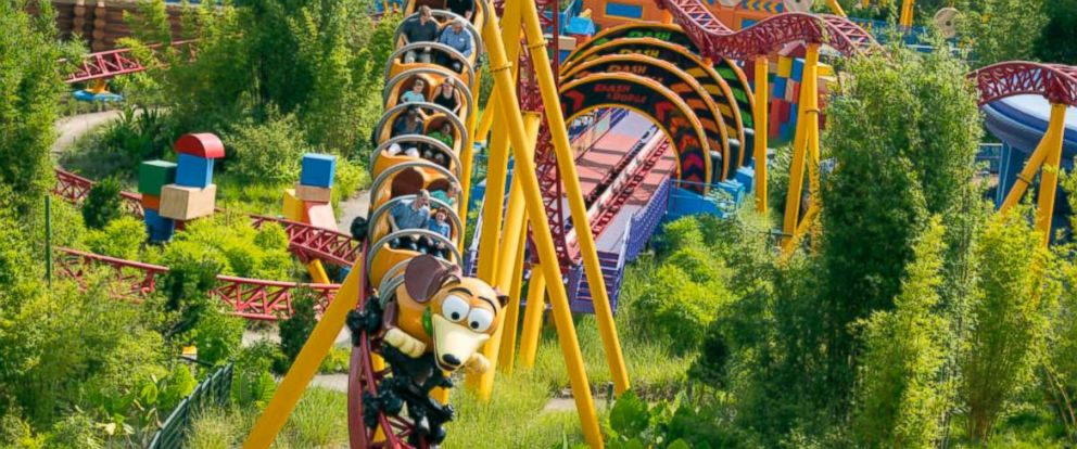 PHOTO: Slinky Dog Dash ride at Walt Disney World Resorts.