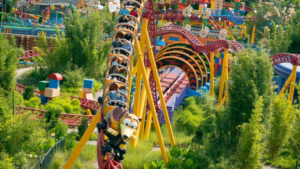 Hop on board Slinky Dog Dash with GMA