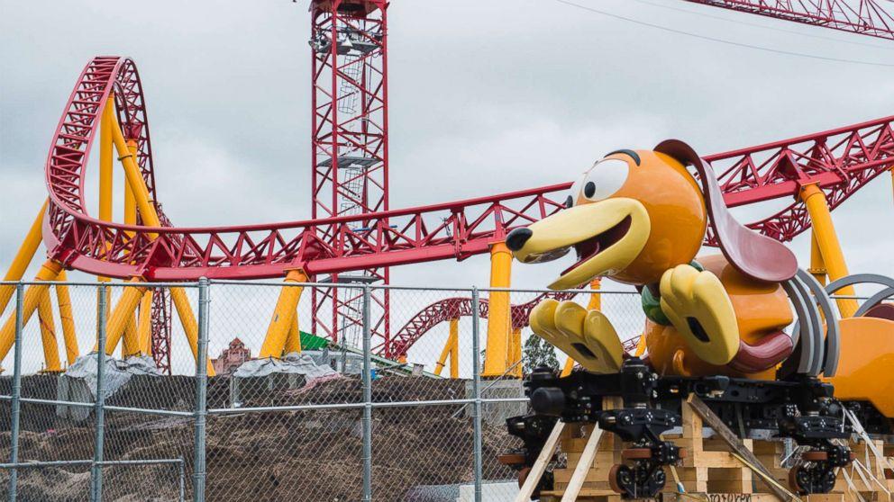 The Slinky Dog Dash ride arrives at Disney's Hollywood Studios.