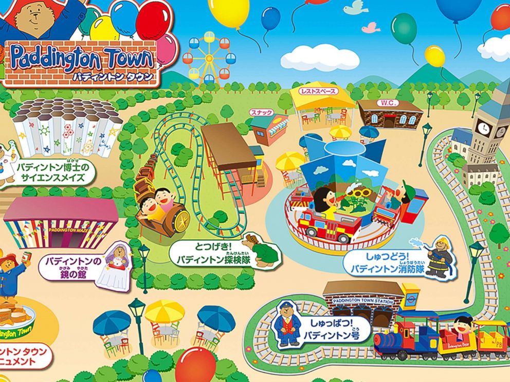 PHOTO: This amusement park featuring the beloved character Paddington Bear is now open to tourists in Japan.