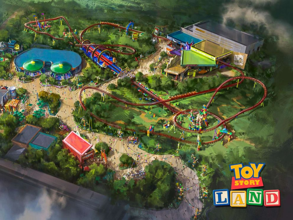 PHOTO: Toy Story Land is coming to Disney's Hollywood Studios.
