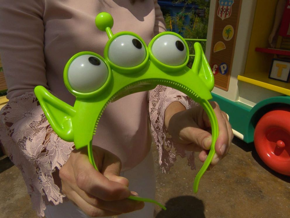 PHOTO: One of the two new headbands offered at Toy Story Land is pictured here. Toy Story Land opens June 30.