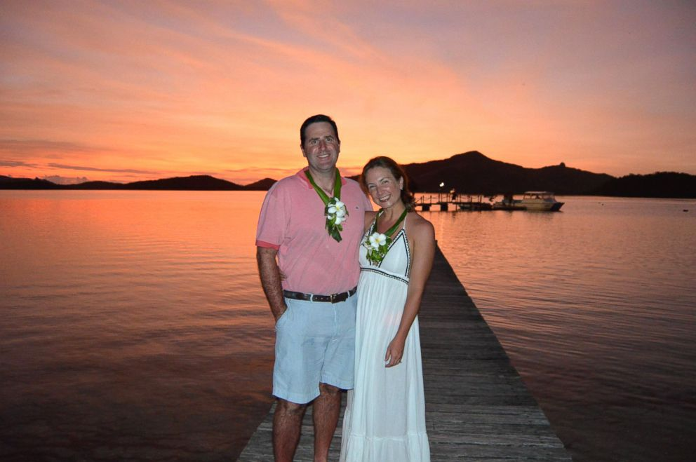 PHOTO: Genevieve Shaw Brown picked Turtle Island, Fiji, as the most romantic place she's ever been.