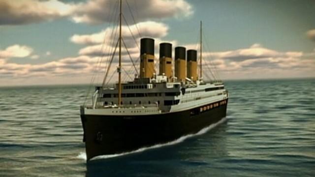 VIDEO: Australian billionaire Clive Palmer reveals blueprints for his seafaring project.