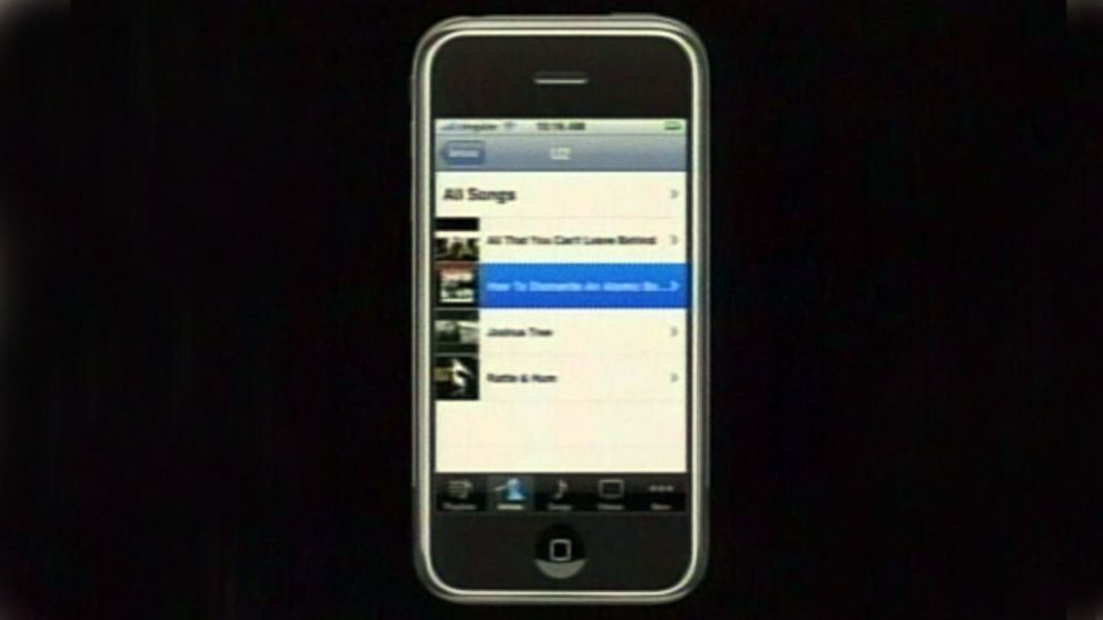 2007 Steve Jobs Unveils Apples First IPhone Video