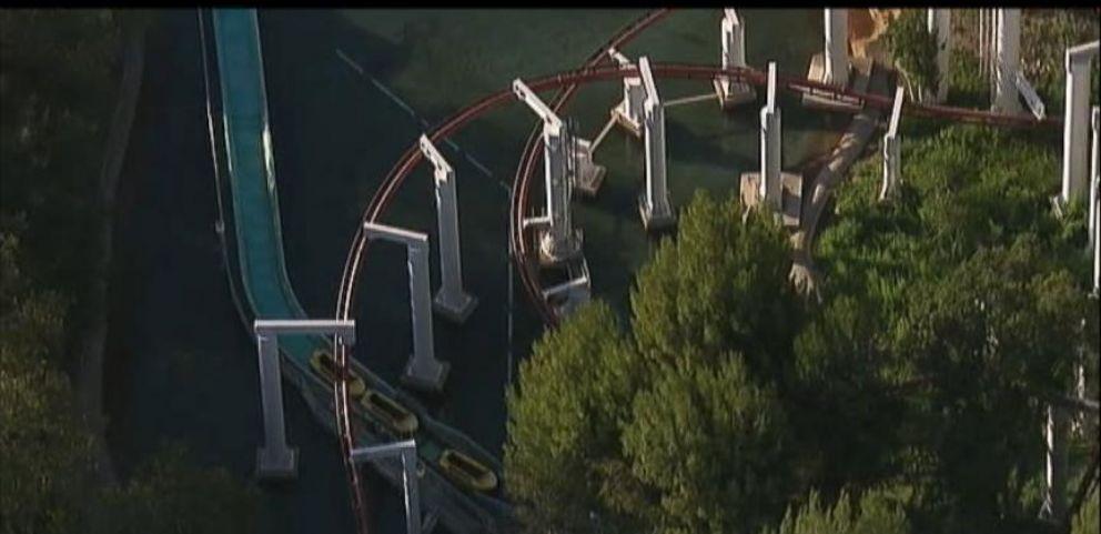 Riders Stranded on California Roller Coaster