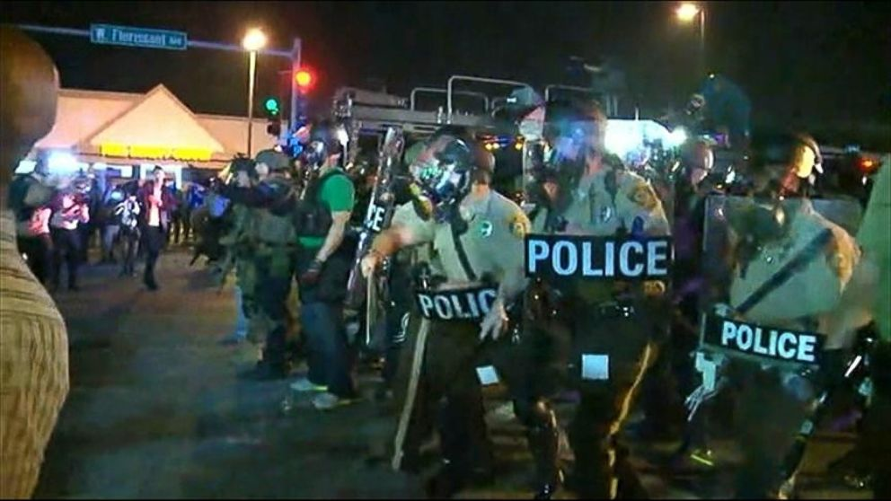 Ferguson, Missouri Protests: More Violence After National Guard ...