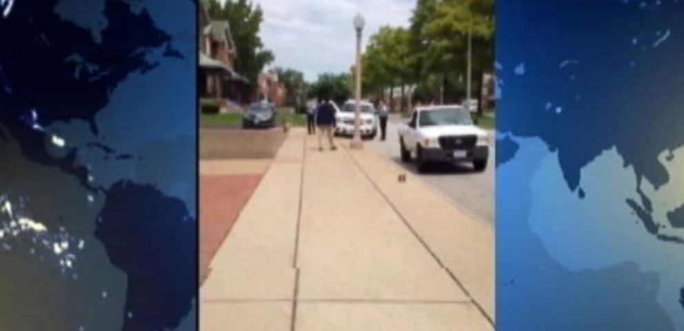 Video Captures St. Louis Shooting