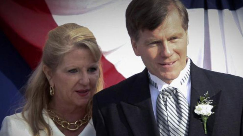Verdict in on Virginia Gov. Bob McDonnell and Wife Video ...