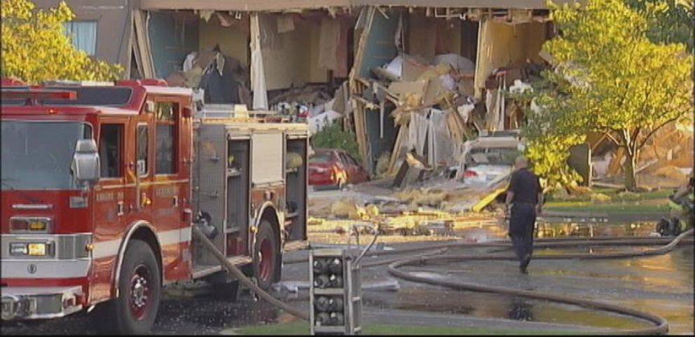 A Lexington, Ky. hotel was destroyed by an explosion, Sept. 7, 2014.