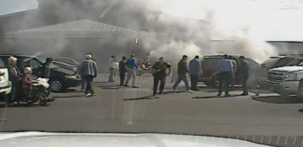 Man Rescued from Burning Car in Dashcam Video