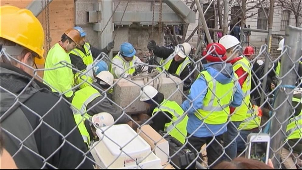 Oldest Time Capsule in US Unearthed at Massachusetts State House